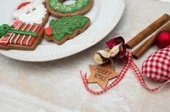 Pão-de-espécie do Natal Foto de Stock Royalty Free