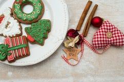 Pão-de-espécie do Natal Imagem de Stock Royalty Free