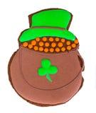Pão-de-espécie doce para o dia do St Patricks Imagens de Stock