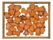 Pão-de-espécie no frame Imagem de Stock