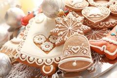 Pão-de-espécie para o Natal Imagem de Stock