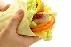 Pão de Pita disponivel Imagens de Stock