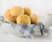 Pão de Queijo Brazilian cheese bread Royalty Free Stock Image