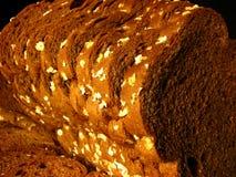 Pão de Rye preto com Oatmeal Imagens de Stock