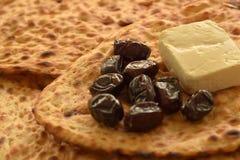 Pão de Sangak, Flatbread iraniano antigo fotografia de stock royalty free