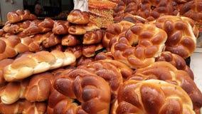 Pão de Shabbat Imagem de Stock