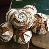 Pão de sourdough do artesão Imagem de Stock
