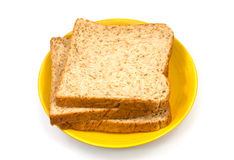 Pão de trigo inteiro Fotos de Stock