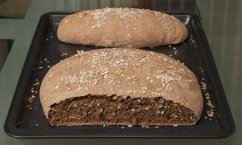Pão de trigo inteiro Foto de Stock