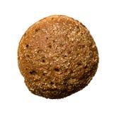 Pão de trigo inteiro isolado no fundo branco Imagens de Stock Royalty Free