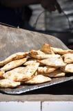 Pão de Turkmenistan imagem de stock