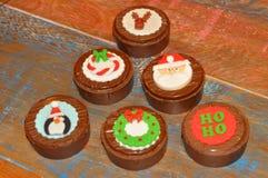 Pão decorativo do mel do Natal Foto de Stock Royalty Free