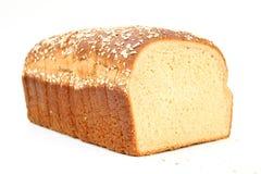 Pão delicioso do trigo do mel foto de stock