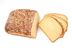 Pão delicioso do trigo do mel imagem de stock