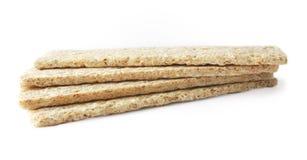 Pão dietético em um fundo branco Imagem de Stock Royalty Free