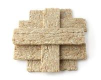 Pão dietético em um fundo branco Imagem de Stock