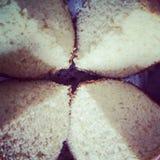 pão dividido Imagem de Stock