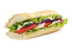 Pão do baguette do metro Foto de Stock