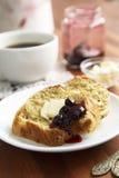 Pão do bolo frito Fotos de Stock