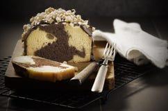 Pão do bolo frito Foto de Stock