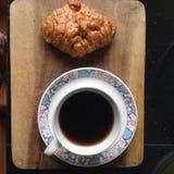 Pão do café Imagem de Stock Royalty Free