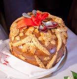 Pão do casamento fotografia de stock
