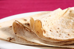 Pão do Chapatti fotos de stock royalty free