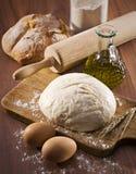 Pão do cozimento Imagens de Stock Royalty Free
