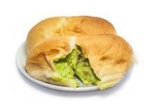 Pão do creme Fotografia de Stock