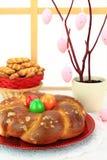 Pão do doce da Páscoa Imagem de Stock