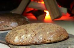 Pão do forno do padeiro Foto de Stock