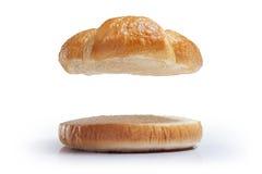 Pão do hamburguer Foto de Stock Royalty Free