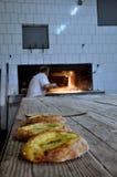 Pão do pão árabe da ramadã imagens de stock
