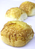 Pão do queijo raspado Imagens de Stock