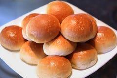 Pão do rolo macio fotos de stock