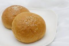 Pão do sésamo Fotografia de Stock Royalty Free