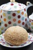 Pão do sésamo Fotografia de Stock
