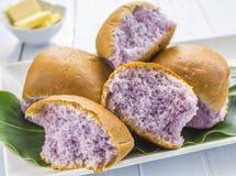 Pão do Taro Imagens de Stock Royalty Free