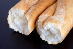 Pão do trigo. Baguette francês. Fotos de Stock Royalty Free