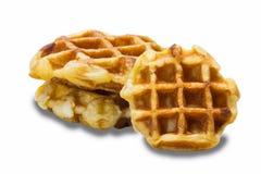 Pão do waffle Fotografia de Stock