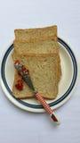 Pão do Wholewheat Fotografia de Stock