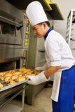 Pão doce fresco Fotos de Stock