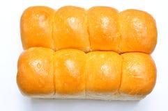 Pão doce isolado no branco Imagens de Stock Royalty Free