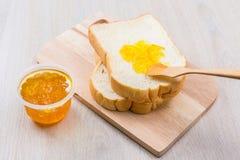 Pão e doce Foto de Stock Royalty Free