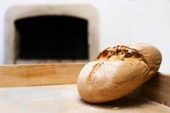 Pão e forno Fotografia de Stock