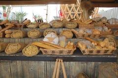 Pão e massa Fotografia de Stock Royalty Free