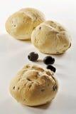 Pão e olives_5 Fotografia de Stock Royalty Free