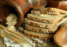 Pão e orelhas Fotos de Stock Royalty Free