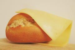Pão e queijo 1 Foto de Stock