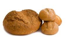 Pão e rolos Imagens de Stock Royalty Free